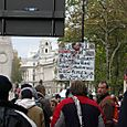 Marching Down Whitehall