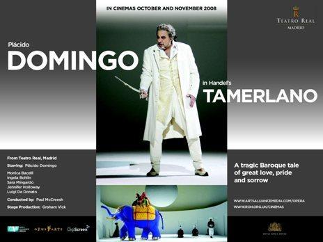Tamerlano poster