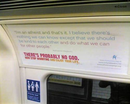 Atheist train