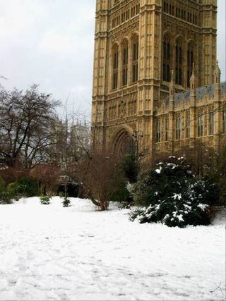 Westminster snow