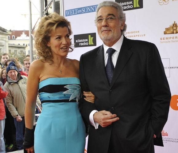Placido and anne sophie