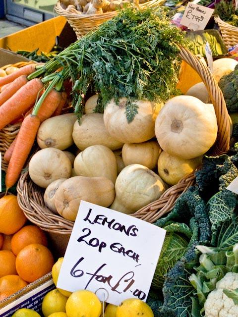 Lemons and carrots