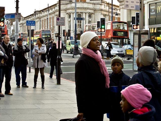 Bus stop Q