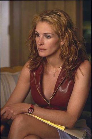 Julia Roberts as Erin Brockovich