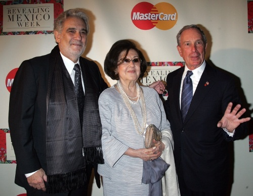 Mayor-michael-bloomberg-and-placido-domingo-arrive-for-the-opening-night-reception-for-revealing-mexico-week-