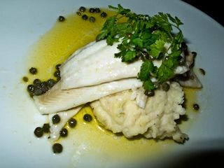 Fish and capers