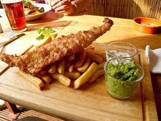 Poncey fish and chips