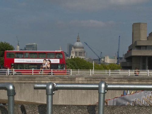 View over Waterloo Bridge