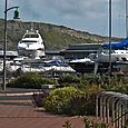 Yachts, parked