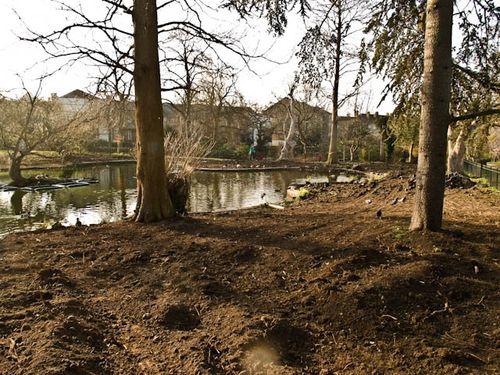 Refurbished pond