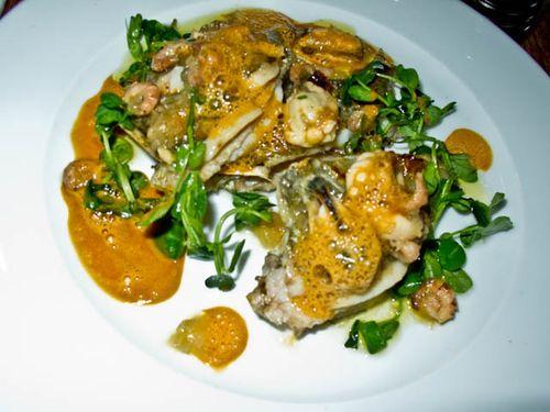 John dory shrimps mussels