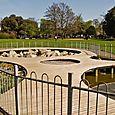 Agnes Riley ornamental pond