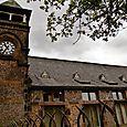 School clock tower