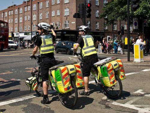 Bicycle paramedics