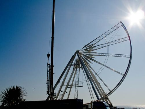Dismantling the wheel