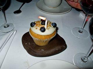Birthday cup cake