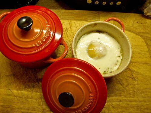 Egg en cocotte