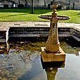 Fountain in Peace Garden