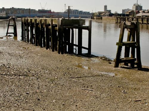 Rotting jetty