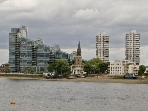 Battersea beach