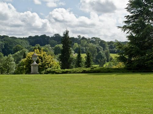 View from the lawn