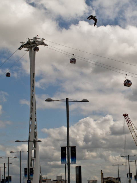 Cable car pylon