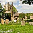 Upper Slaughter church yard