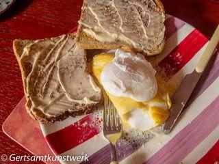Haddock and poached egg