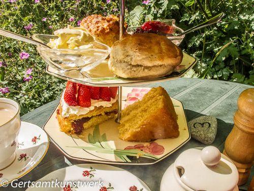 Cakes and scones