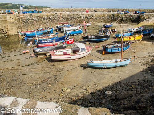 Low tide harbour