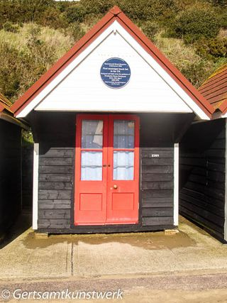 Oldest beach hut