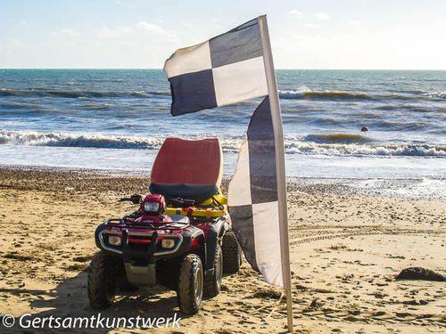 Lifeguards' buggy
