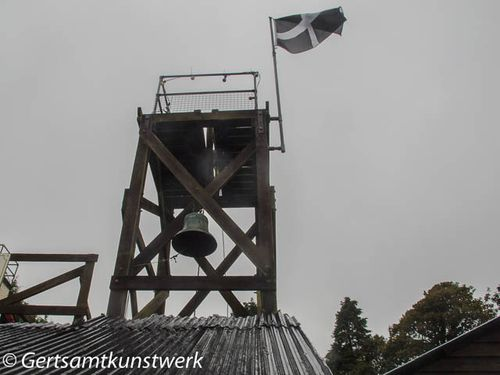 Bell and flag