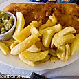 Cod and chips