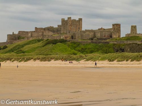 Castle from beach