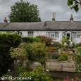 Cottages by the stream