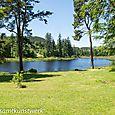 Cragside lake