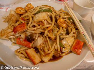 Seafood & noodles