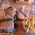 Perfect Blend mushroom burger