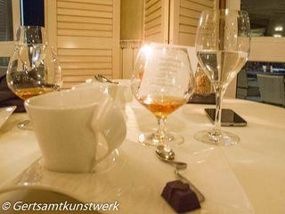 Calvados, coffee and truffles