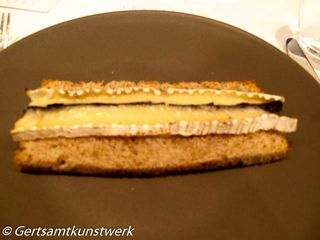 Truffled brie de meaux
