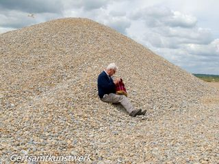 Hill of pebbles