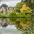 Lake and mansion