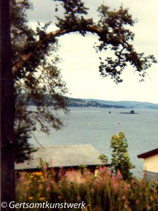 Nuclear submarine Holy Loch