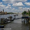 Pier at Lambeth Palace