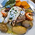 Disappointing fish at Craster arms