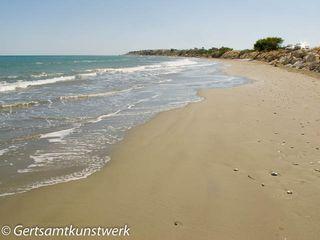 Beach south of Larnaca