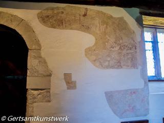 Mediaeval mural