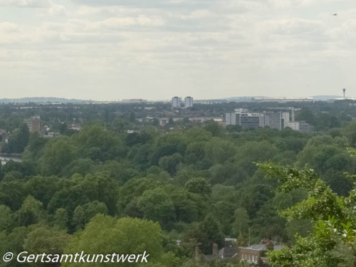 West London from Hennry's mound