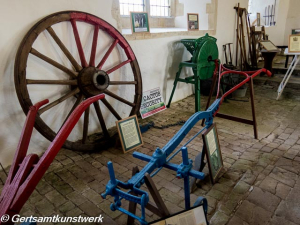 Plough and cartwheel